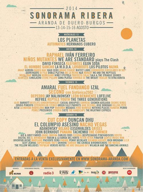 Sonorama-2014-cartel-dias