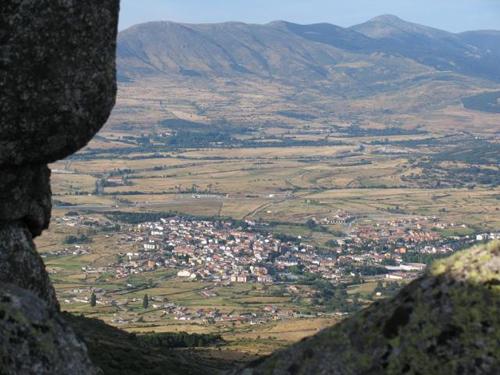 vista desde la sierra el_espinar-segovia