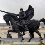 Estatua del Cid en Burgos