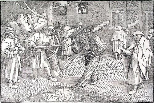 referencia hombres de musgo antiguas